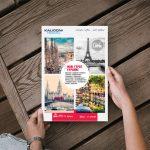 τουριστικό γραφείο ταξιδιωτικό έντυπο kalidoni travel