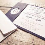 προσκλητήριο γάμου με κοπτικό Θεσσαλονίκη γραφίστας raindesign